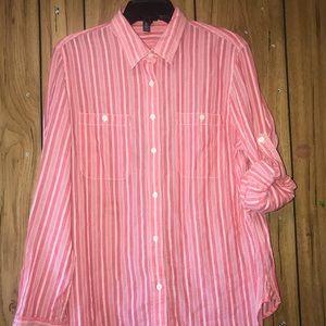 Lauren Ralph Lauren Shirt Size Xl